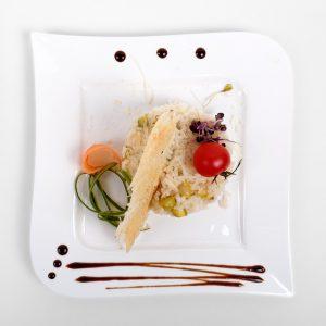 Orez cu sparanghel si parmezan (250/50/50 g)