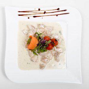 Salata de rosii cu branza (200 g)