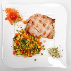 Grilled turkey breast (300/50 g )